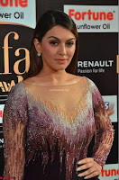 Hansika Motwani in Glittering Deep Neck Transparent Leg Split Purple Gown at IIFA Utsavam Awards 03.JPG