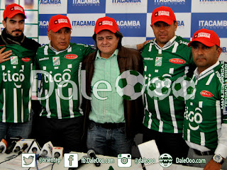 Oriente Petrolero - Presentación de Wilson Gutiérrez - DaleOoo.com página Club Oriente Petrolero