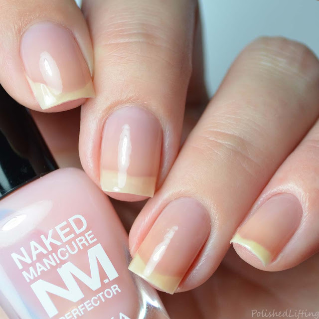 pink color correcting nail polish