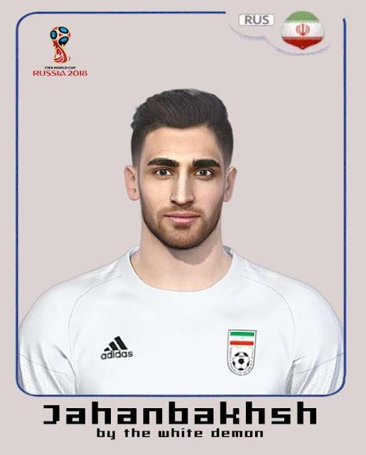 Alireza Jahanbakhsh Face PES 2018