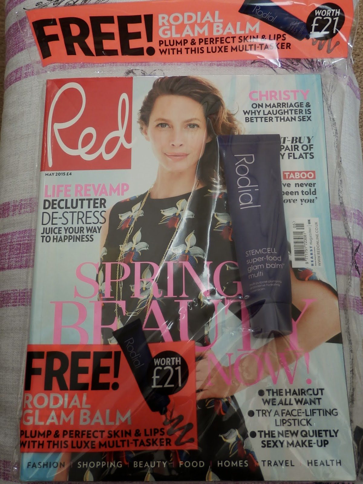 Magazine Freebies - Red Magazine - Rodial Stemcell Super-food Glam Balm