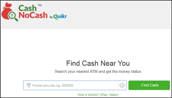 Cash no Cash Website