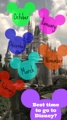 The Best Time to Visit Disneyworld, shared by Serendipity & Spice at www.The-chicken-Chick.com