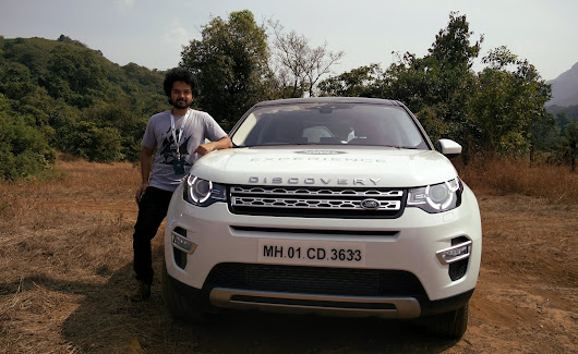 Rahul Jadhav: A date with the beast. My Land Rover Experience at Aamby Valley