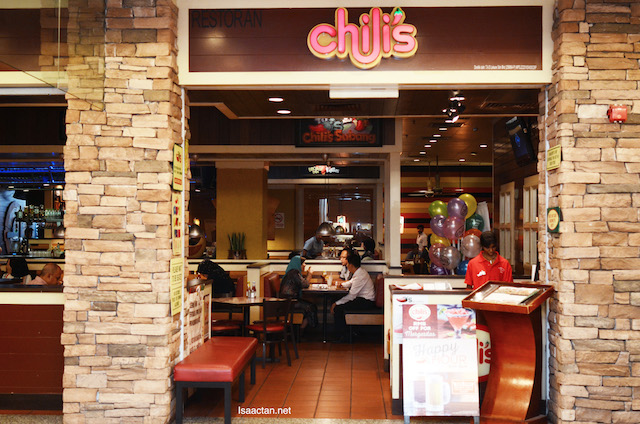 Dinner Special & Socials at Chili's Malaysia