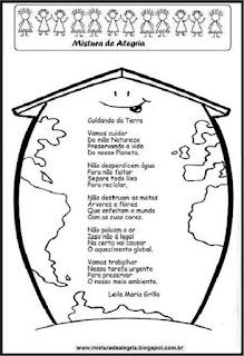 Meio ambiente, poesia cuidando da terra