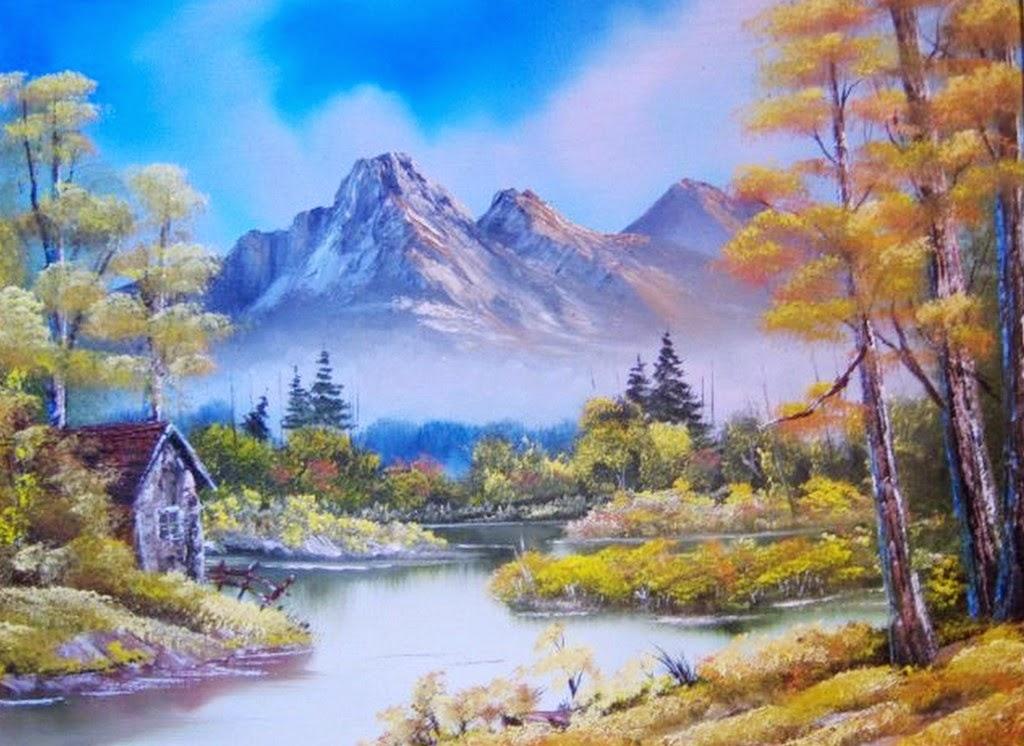 Imágenes Arte Pinturas: Cuadros Al óleo Con Paisajes De
