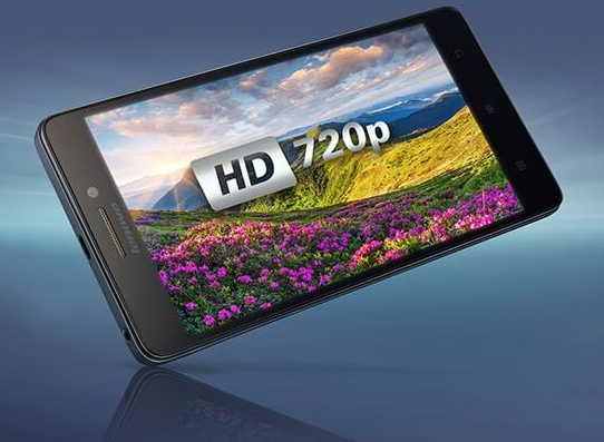 Layar HD Lenovo A7000