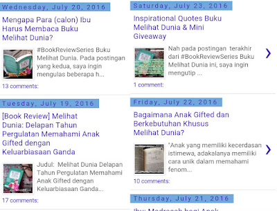 Melek Parenting Dan Melek Hukum Di Blog Ophi Ziadah, Mom Of Trio's World