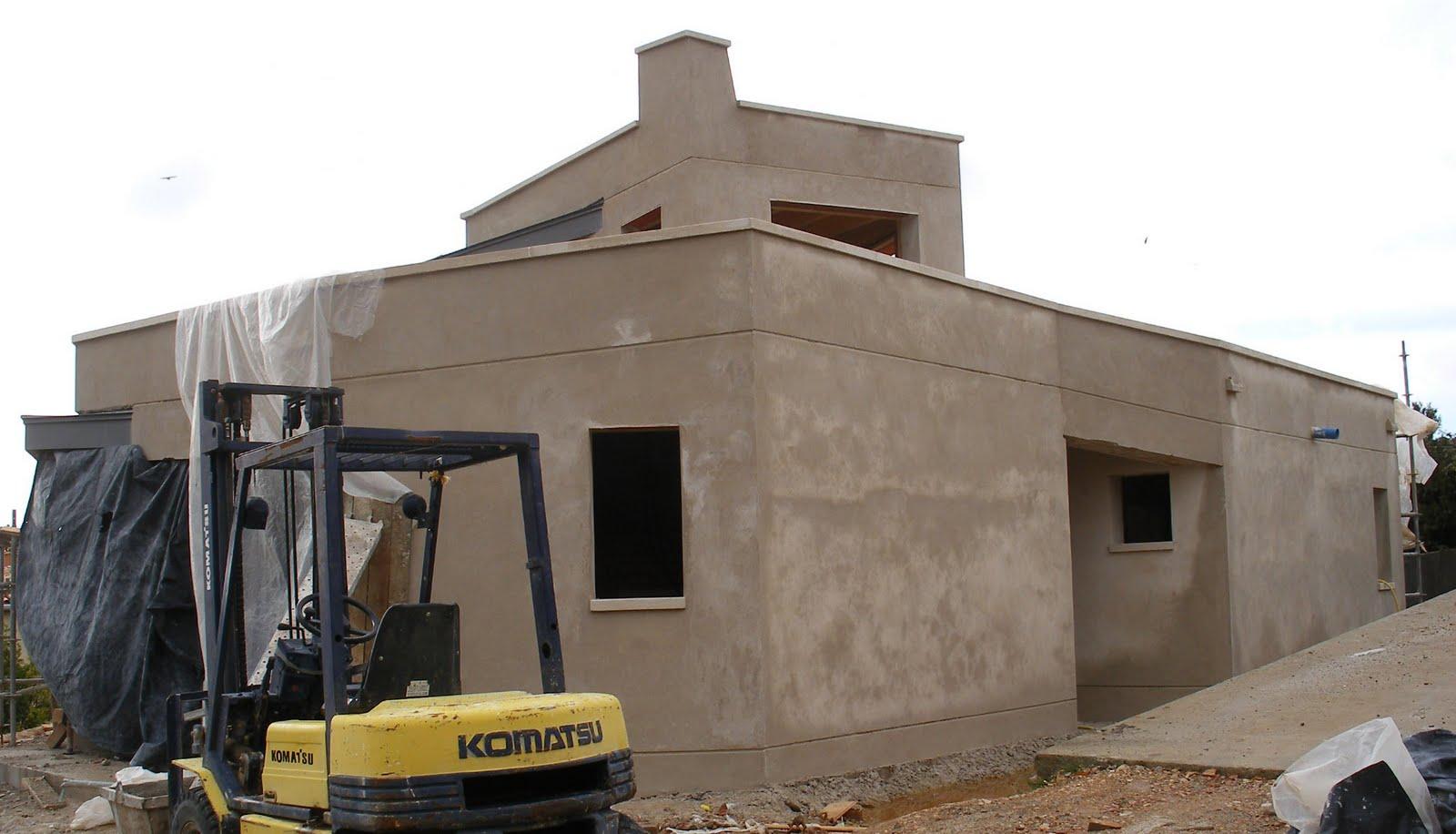 Construyendo la casa bioclim tica 12 construcci n 6b for Construccion de casas bioclimaticas