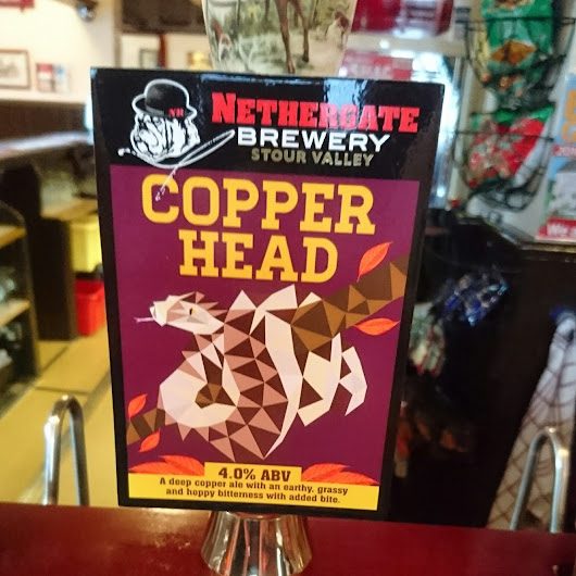 Essex Craft Beer Review: Copperhead from Nethergate