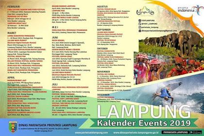 Jadwal Lengkap Kalender Event Lampung 2019, Yuk Sebarkan!