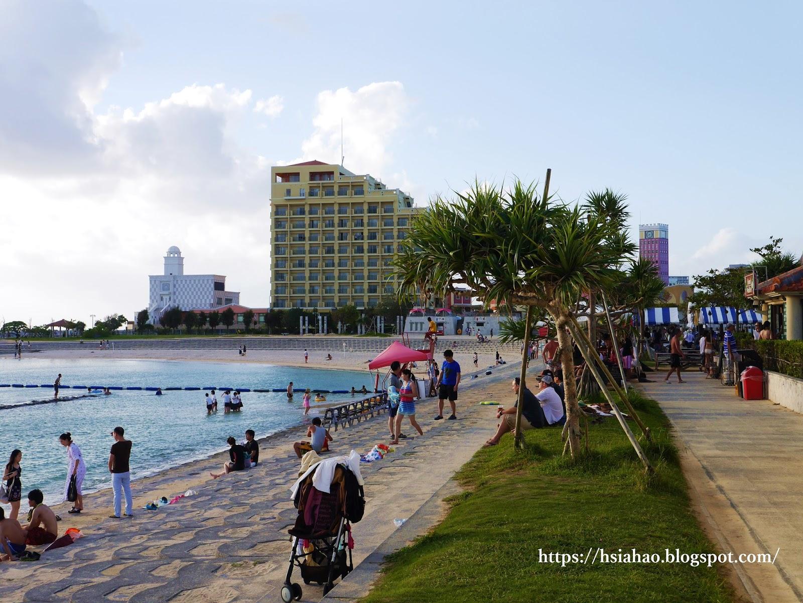 沖繩-美國村景點-推薦-美國村-american-village-北谷公園-日落海灘-自由行-旅遊-Okinawa-sunset-beach
