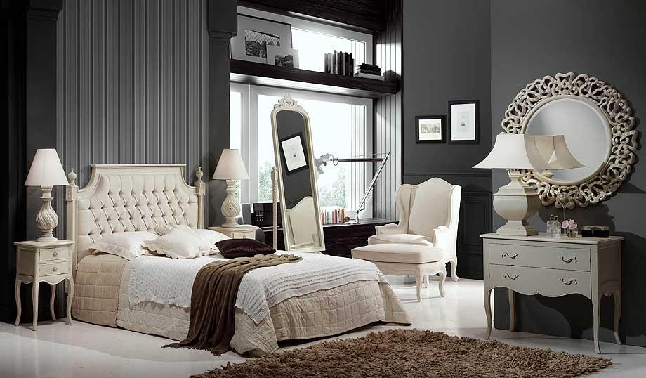 Muebles de dormitorio cabeceros para dormitorios romanticos - Camas estilo romantico ...