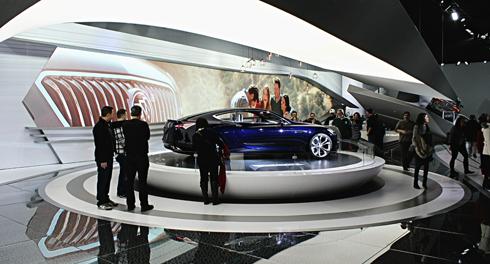buick avista concept car detroit auto show
