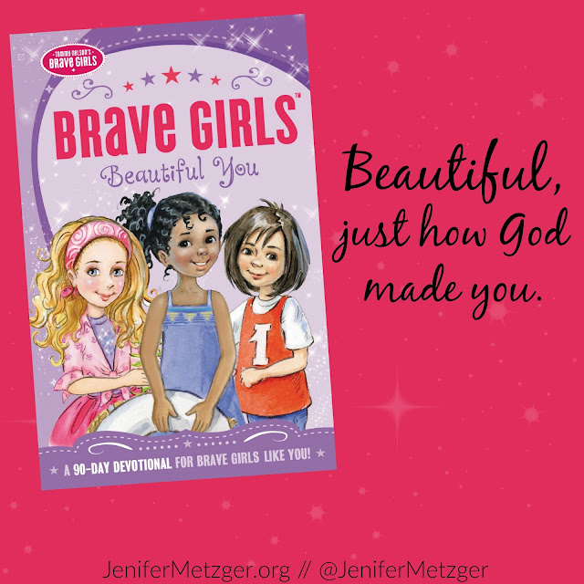 Review and giveaway of Brave Girls Beautiful You 90 day devotional for tween and teen girls. #bravegirls #beautifulyou #tommymommy