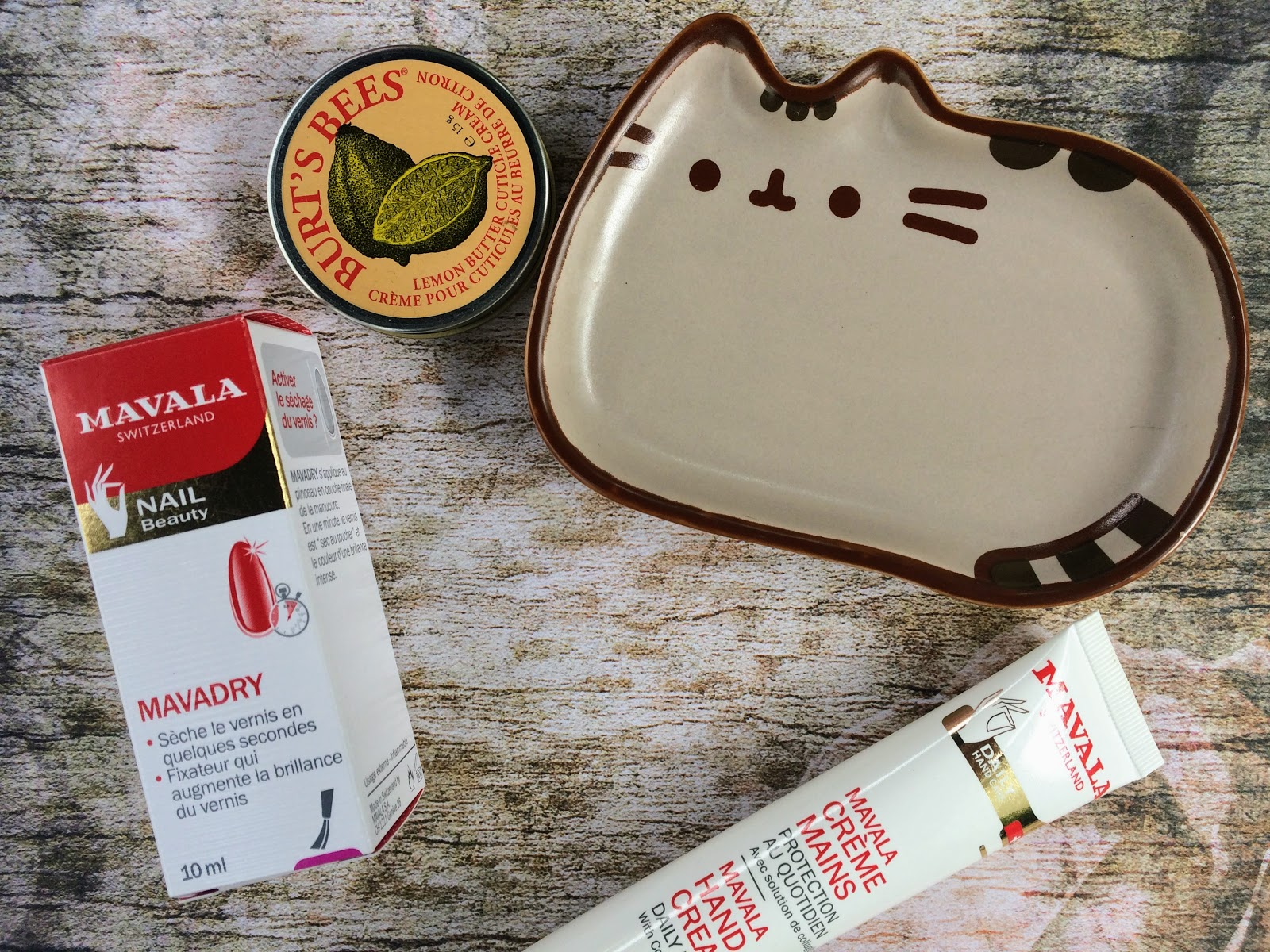 Mavadry, Handcream, burts bees, pusheen
