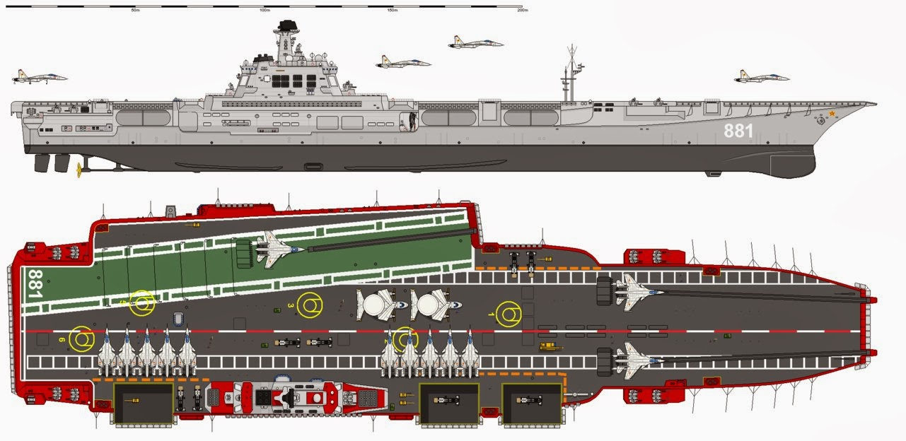 Vndata China Plans To Build A 110 000 Ton 39 Super Aircraft Carrier 39 To Rival Us Naval Power