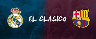مباراة برشلونة وريال مدريد الكلاسيكو والقنوات الناقلة بي أن سبورت HD1