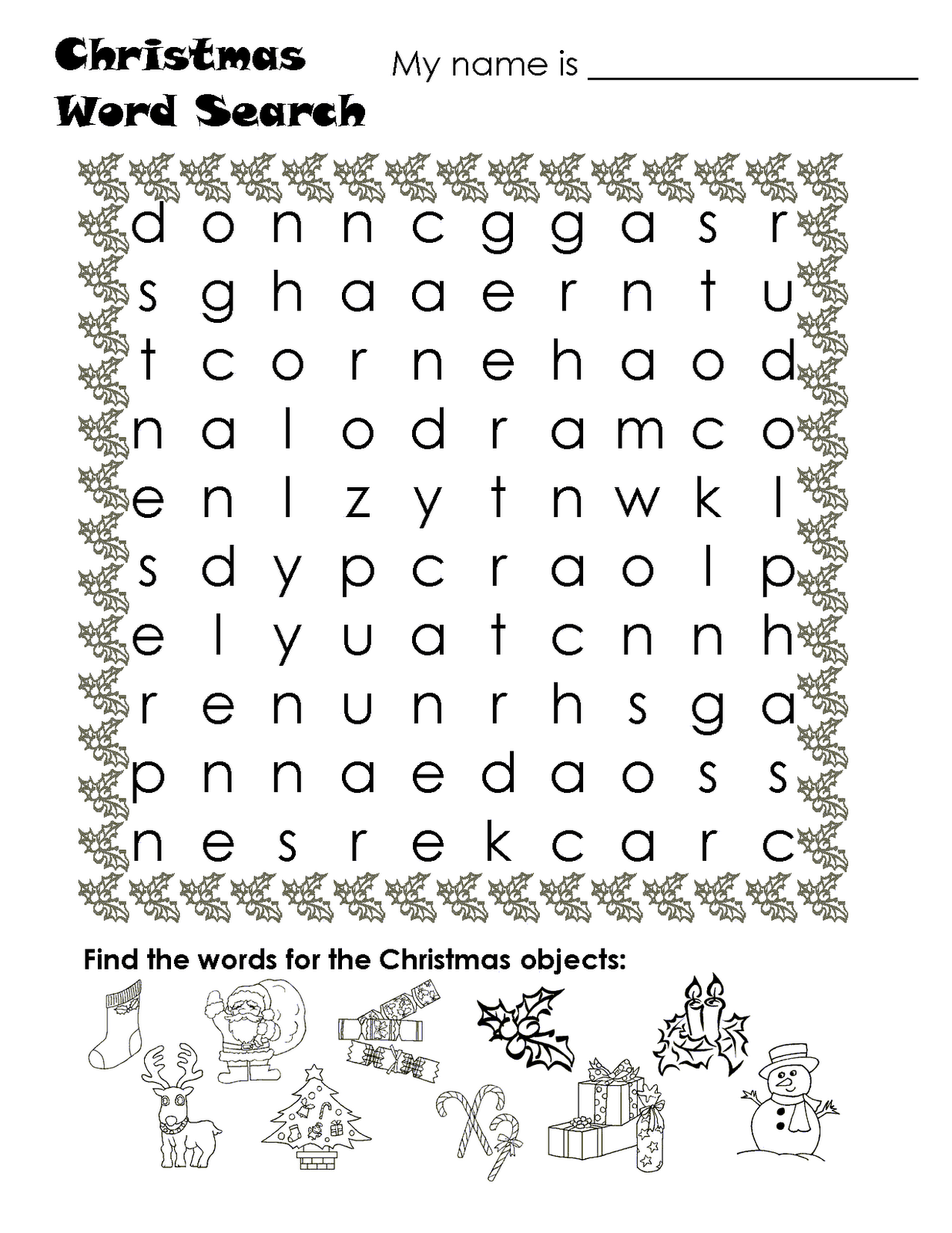 Irs Word Search