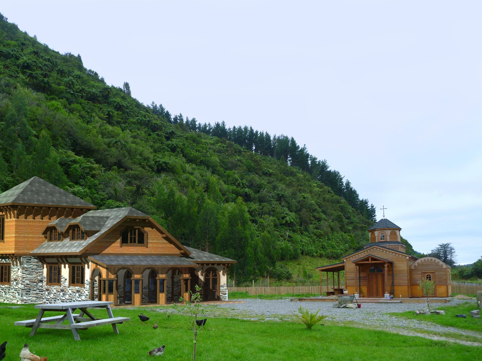 νεα ζηλανδια Video Pinterest: Orthodox Life: The Monastery Of Levin New Zealand B