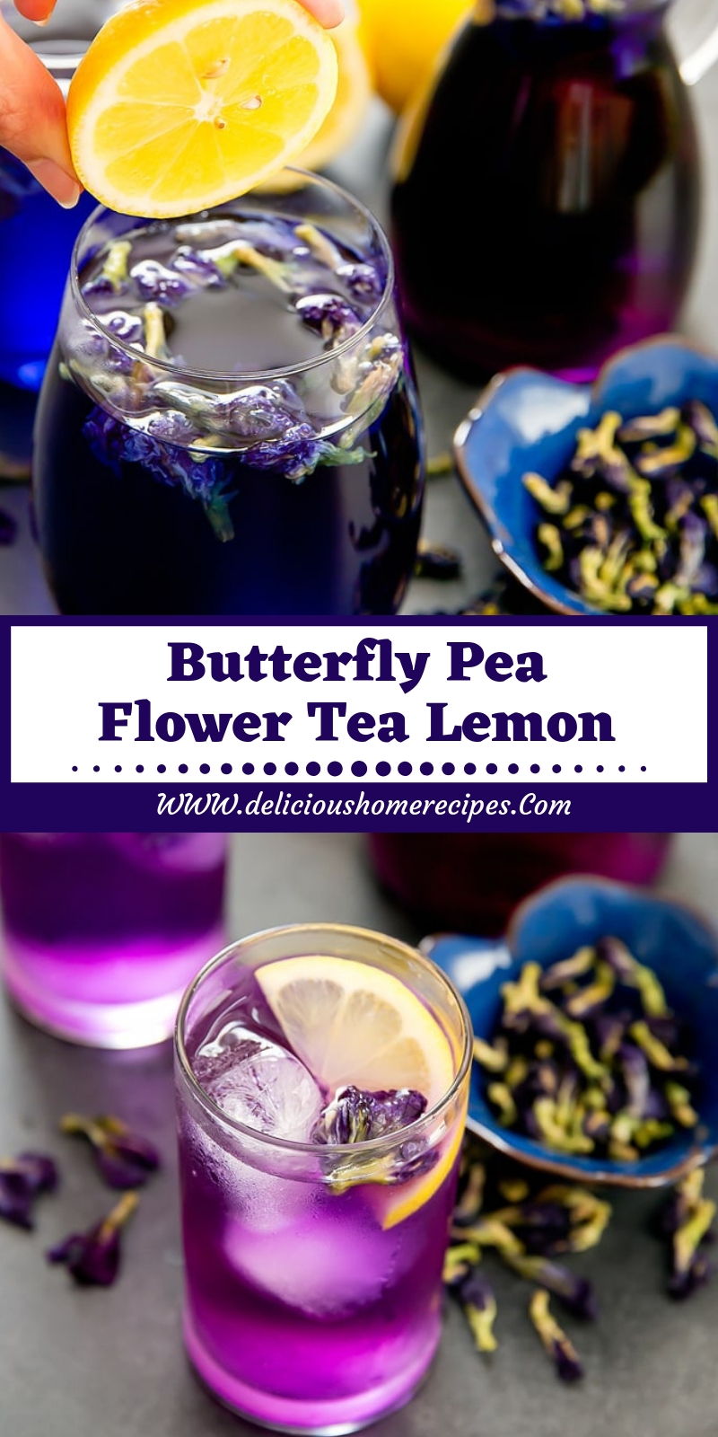 Butterfly Pea Flower Tea Lemon