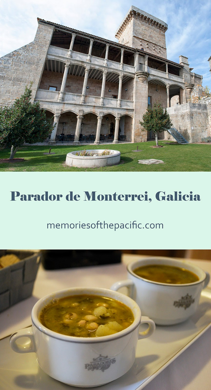 parador luxury hotel castle heritage spain galicia accommodation patrimonio castillo