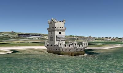 Башня Белень (Torre de Belem). Лиссабон, Португалия.
