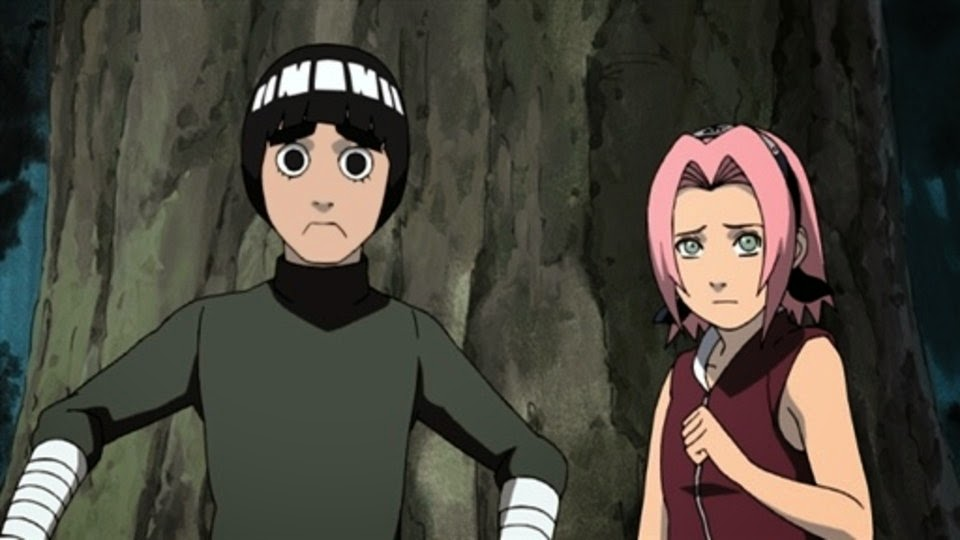 Rock Lee y Sakura