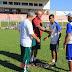 André Medeiros visitou Jogadores do Sub-19 do Sinop F.C., Preparador Físico Vidal e o treinador Wiliam Gabriel