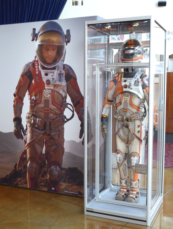 Matt Damon The Martian NASA astronaut film costume