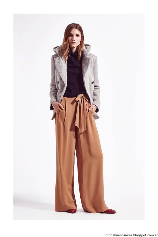 Sacos otoño invierno 2016 Clara ropa de mujer. Moda otoño invierno 2016 minimalismo urbano estilo.