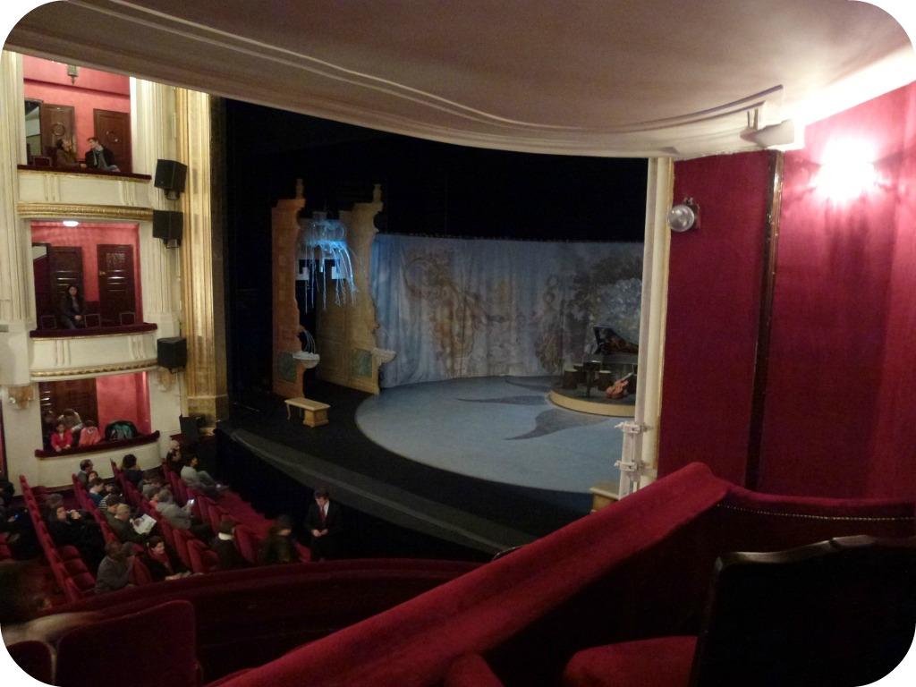Le bourgeois gentilhomme th tre de la porte st martin la parisienne du nord - Theatre de la porte saint martin plan ...