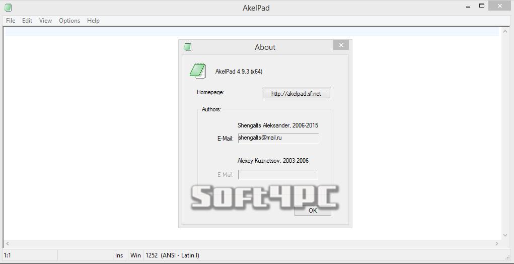 AkelPad Editor 4.9.4 + Plugins Pack (22-06-2015)