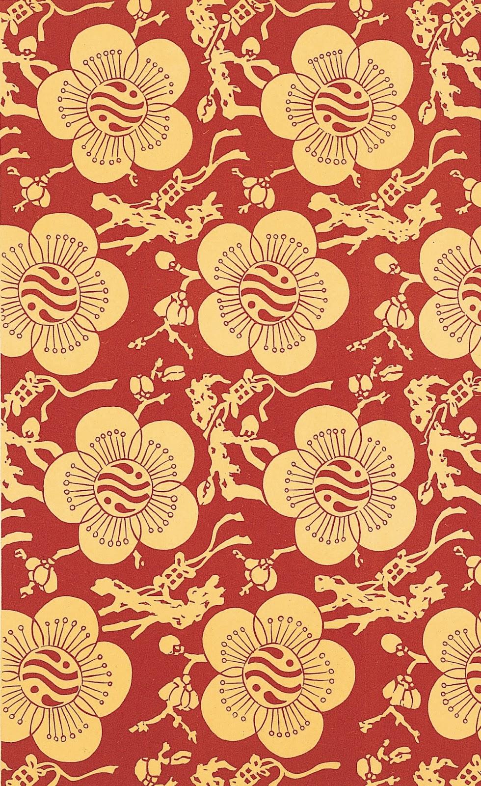 Flyer Goodness Chinese Motif Patterns