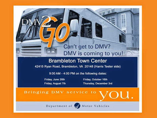 DMV to Go coming to Brambleton Town Center