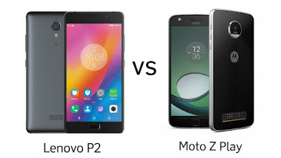 Lenovo P2 vs Moto Z Play