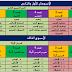 الخطوات المنهجية لتقديم مكونات جميع المواد المدرسة باللغة العربية
