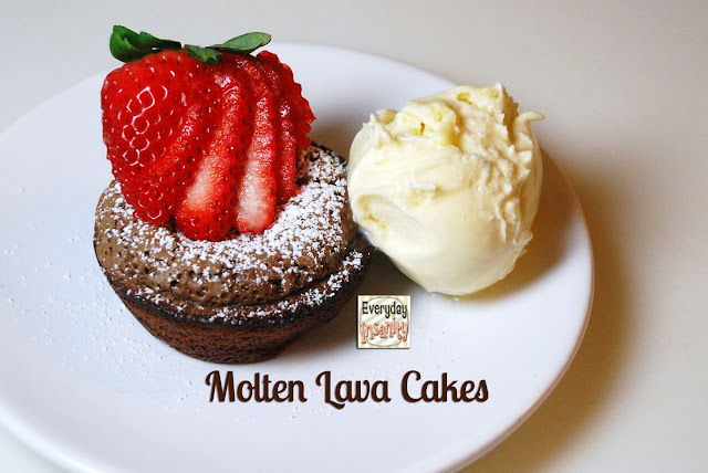 Lava Cakes In Muffin Tins