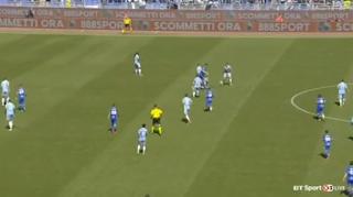بالفيديو : افضل وامتع مباراة اليوم بين لاتسيو وسامبدوريا والتى حصيلتها عشرة اهداف