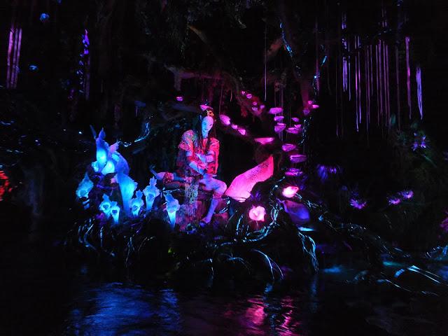 Na'vi River Journey ride in Disney's Animal Kingdom