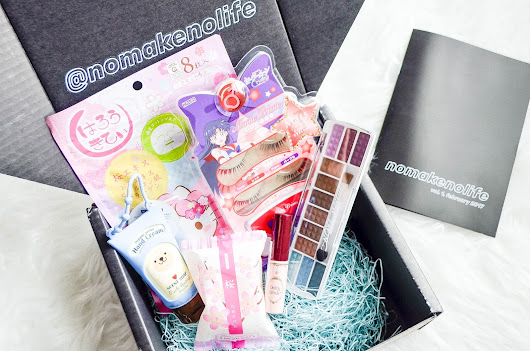 UNBOXING: nmnl 'nomakenolife' Japanese Beauty Box (February 2017)