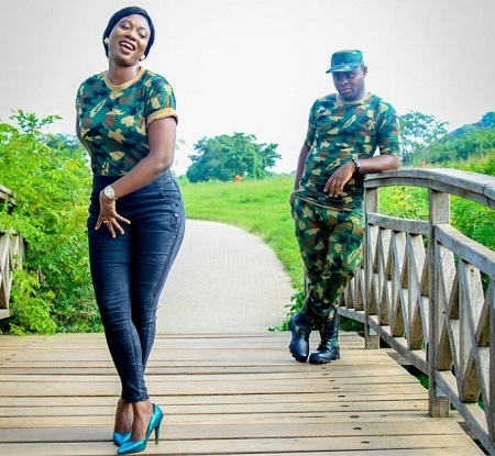 pretty relationship can exist between nigerian soldiers and their girls - www.djcentiz.com
