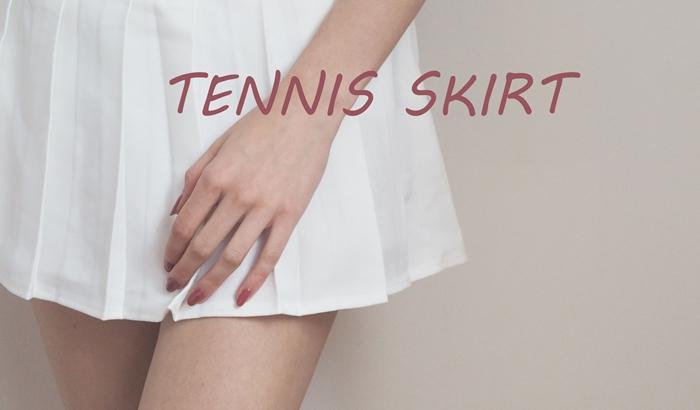 stylizacje z tenisową spódniczką
