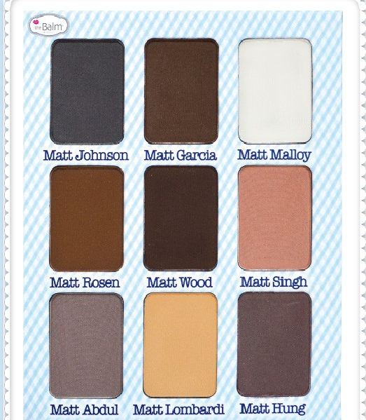 Warna Eyeshadow Pallete Meet Matt(e) Nude