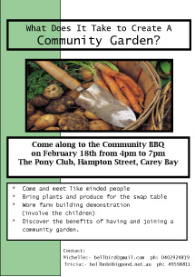 The Coal Point Chronicle: Community Gardening
