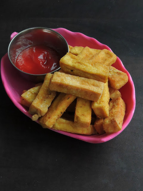 Fried tofu fingers