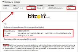 Bukti Pembayaran Bitcoin Gratis dari Situs Bestchange