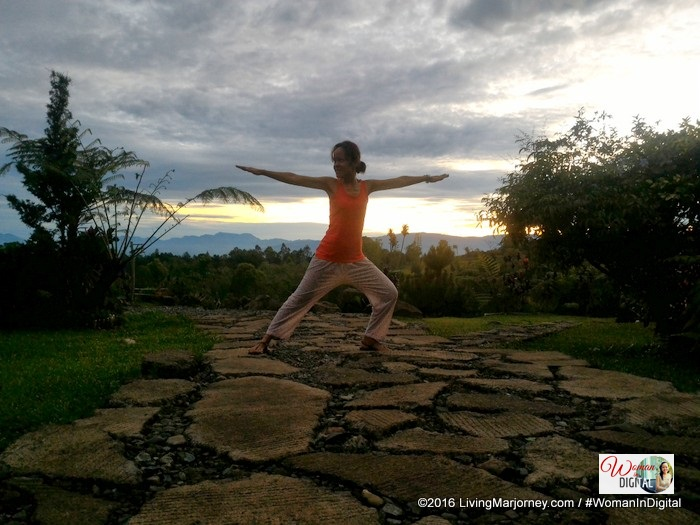 yoga at Aloma's Place Bukidnon