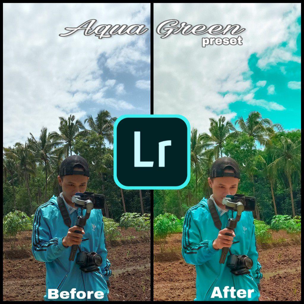 Membuat Efek Aqua Green Dengan Lightroom